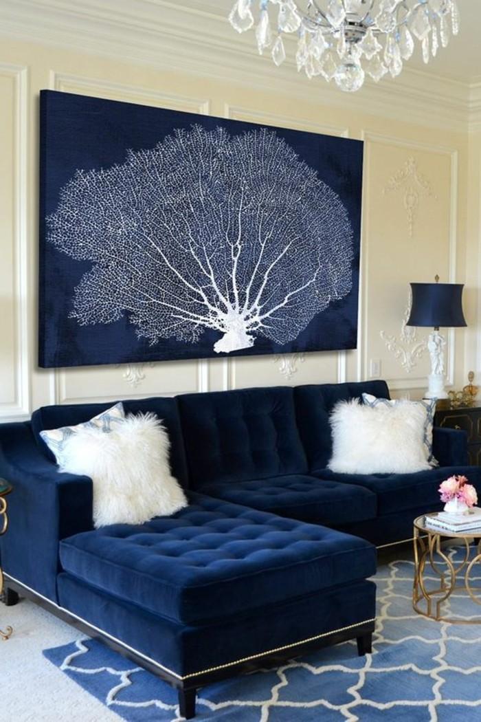 elegante-Wohnzimmer-Gestaltung-stilvolle-Einrichtung-großes-Bild-auf-Leinwand