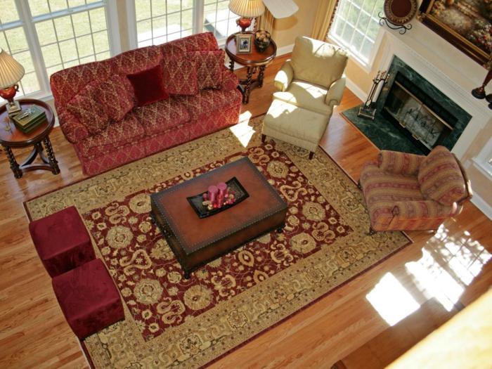 exklusive-Teppiche-zu-großem-Wohnzimmer