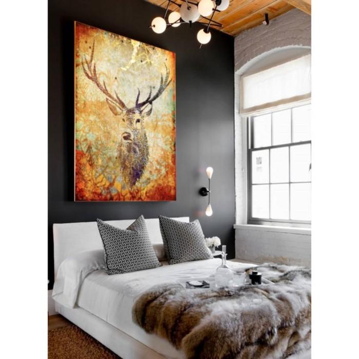 romantische bilder f r schlafzimmer wohndesign und. Black Bedroom Furniture Sets. Home Design Ideas