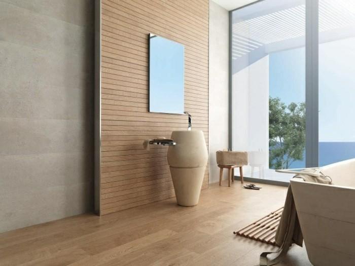 fliesen-holzoptik-badezimmer-große-glaswände-modernes-waschbecken