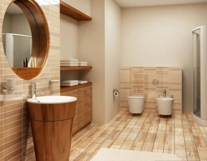 bodenfliesen in holzoptik für ein tolles bad! - archzine, Badezimmer