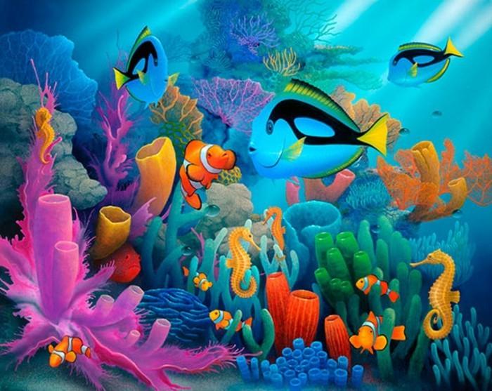 Fototapete kinderzimmer unterwasserwelt  Fototapete Kinderzimmer Unterwasserwelt – Quartru.com