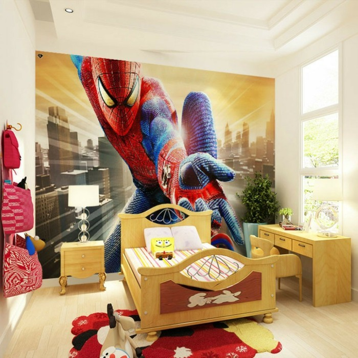 Spiderman Kinderzimmer  Socialblogr.com - Hausgestaltung Ideen
