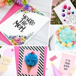 Geburtstagskarten selber gestalten: Anleitungen, Ideen, Inspirationen