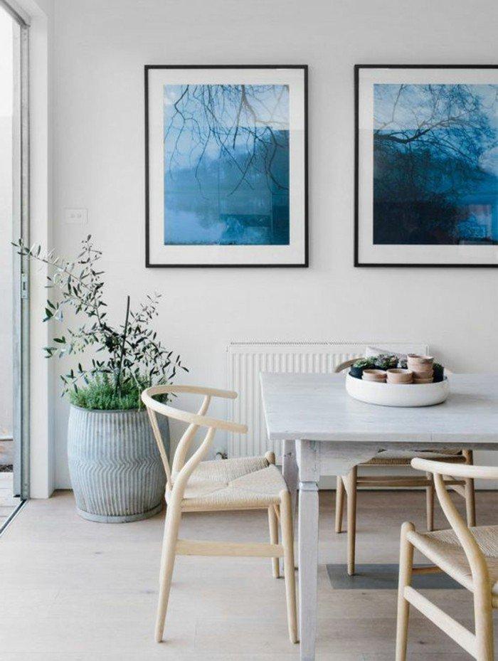 Der esszimmertisch und sein platz unter den m beln for Wandbilder esszimmer