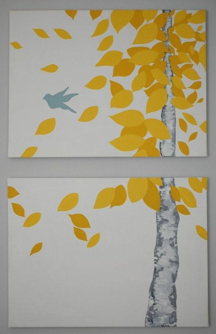gemalte-Bilder-auf-Leinwand-kreative-Idee