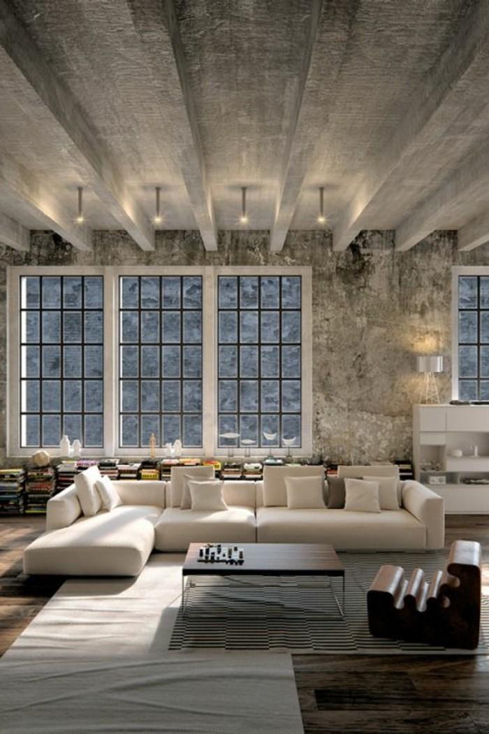 graues-modell-wohnzimmer-tolle-zimmerdecke-luxus-ambiente