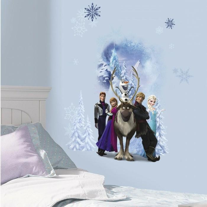 große-wandbilder-für-kinderzimmer-mit-allen-helden-aus-dem-film-Eiskönigin