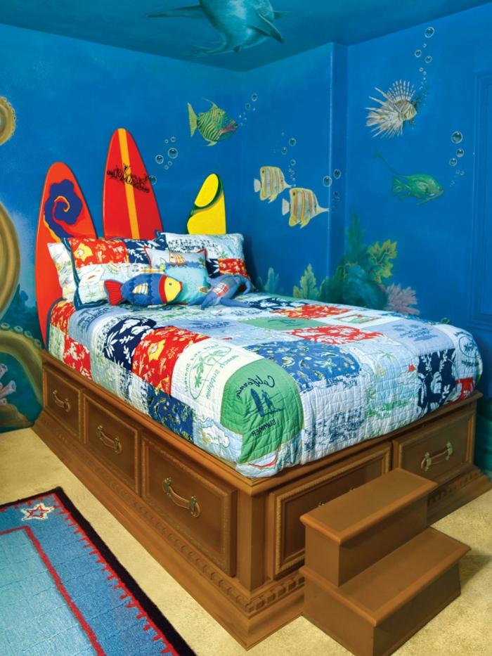 große-wandbilder-für-kinderzimmer-wie-unter-Wasser