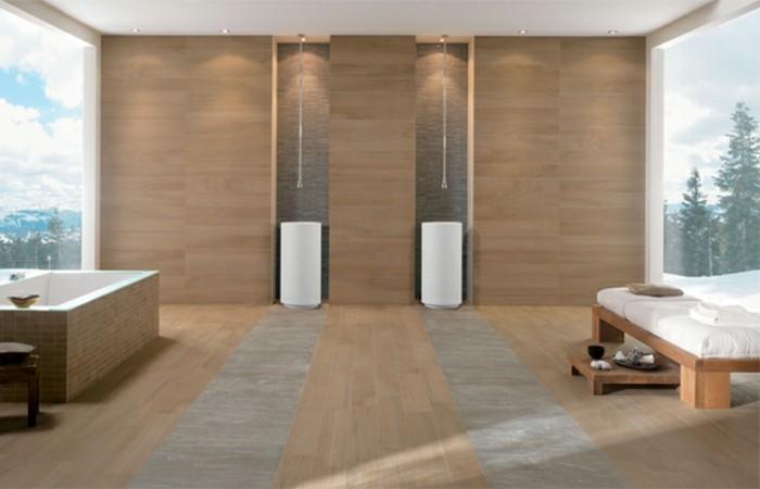 herrliches-modell-badezimmer-mit-fliesen-in-holzoptik-zwei-weiße-waschbecken