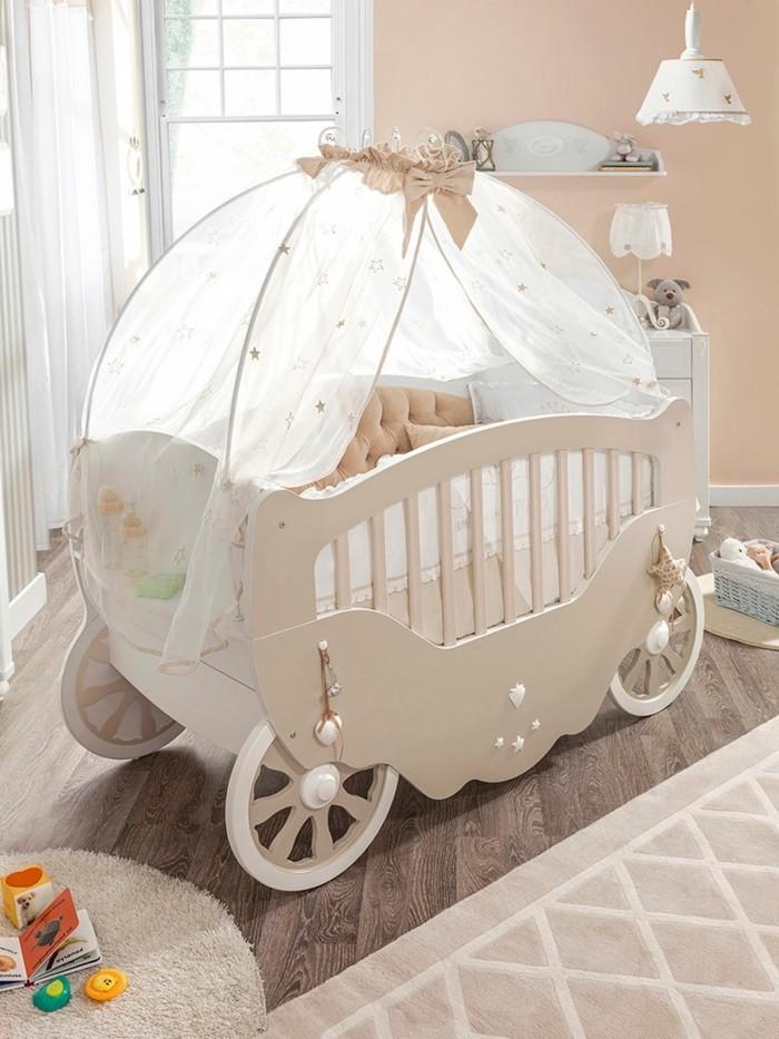 himmelbabybett-für-babys-prinzessinen-taupe-farbe