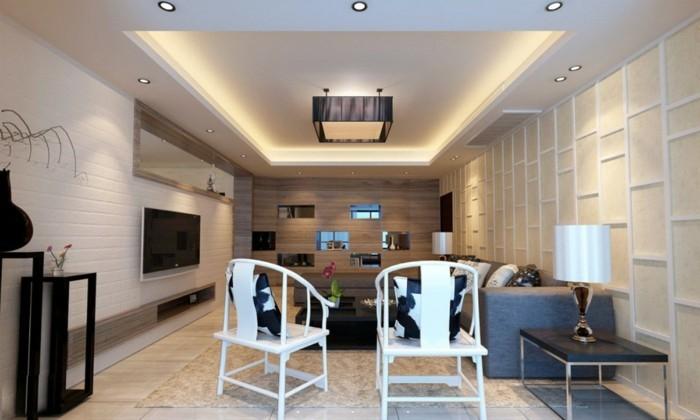 Welche deckengestaltung f rs wohnzimmer gef llt ihnen - Indirekte beleuchtung wohnzimmer decke ...