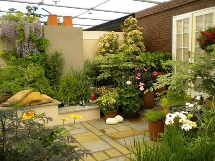 inspirierende-gartengestaltung-ideen-grüne-pflanzenumgebung