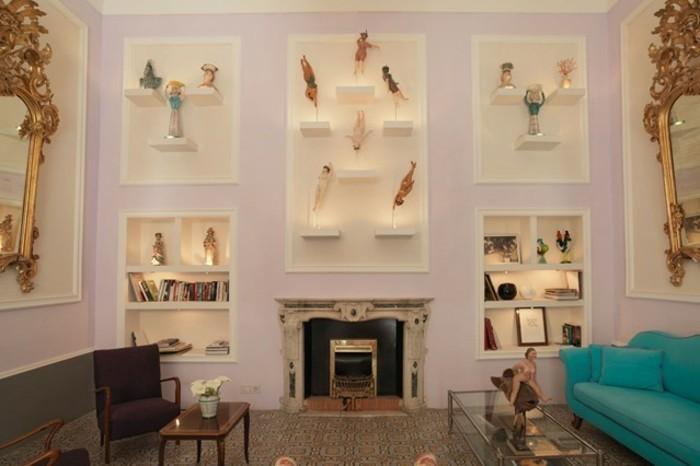 interessante-attraktive-farbgestaltung-wohnzimmer-schöne-wände