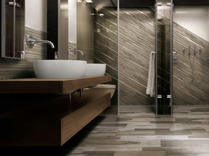Bodenfliesen in Holzoptik für ein tolles Bad! - Archzine.net