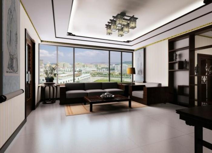 interessante-deckenverkleidung-weiße-wände-modernes-design