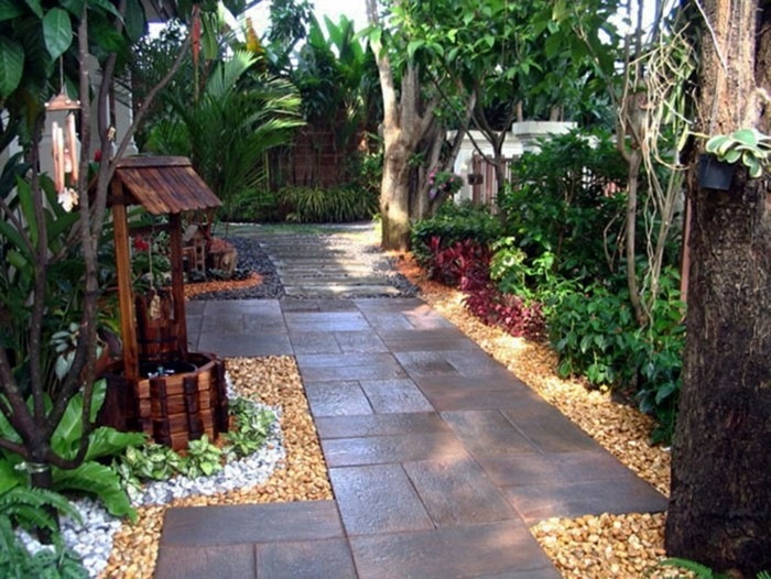 interessante-gestaltung-vorgarten-anlegen-grüne-umgebung