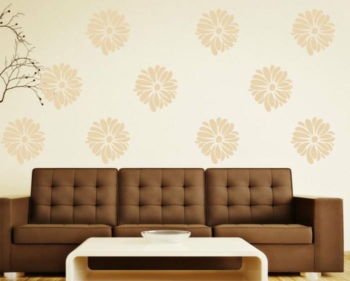 interessante-schöne-farbgestaltung-wohnzimmer-tolle-tapeten-schöne-wandgestaltung