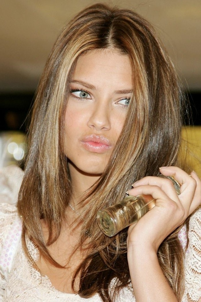 light brown hair with ombre long bob wellig stylen casual look in 10 minuten video khle. Black Bedroom Furniture Sets. Home Design Ideas