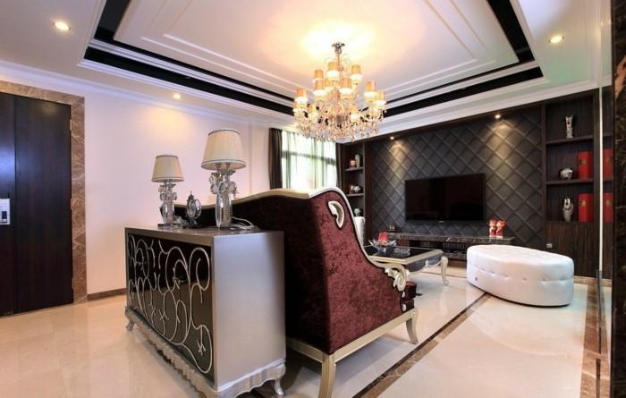 Welche Deckengestaltung Fürs Wohnzimmer Gefällt Ihnen Archzinenet - Wohnzimmer deckenverkleidung
