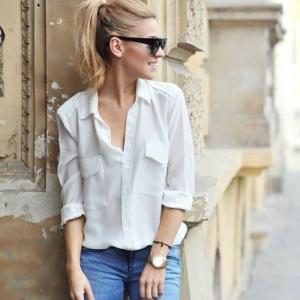 Weißes Hemd - 36 Modelle, die voll im Trend liegen