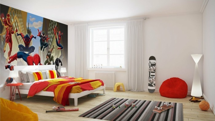 kreative gestaltung kinderzimmer. Black Bedroom Furniture Sets. Home Design Ideas