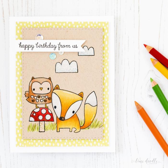 Geburtstagskarte selbst beschriften