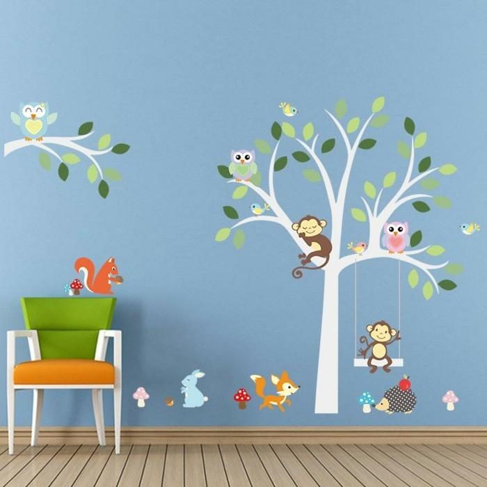 Kinderzimmer wandgestaltung vorlagen for Kinderzimmer wandgestaltung