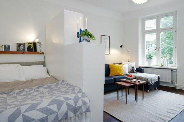 Gut Kleine Wohnung Einrichten Schlafzimmer Wohnzimmer