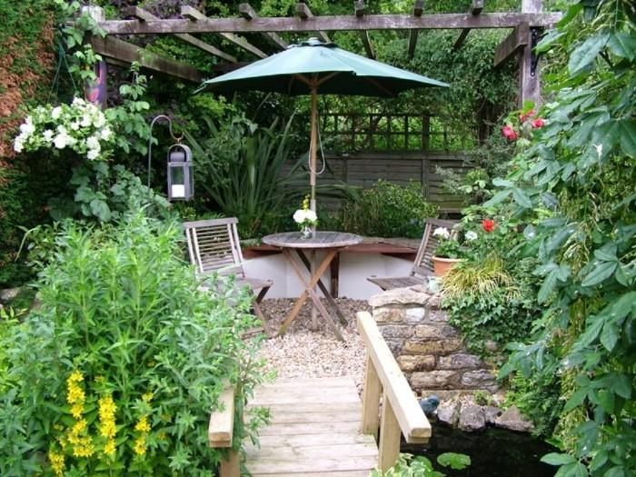 88 tolle gartenideen für kleine gärten! - archzine, Hause und Garten