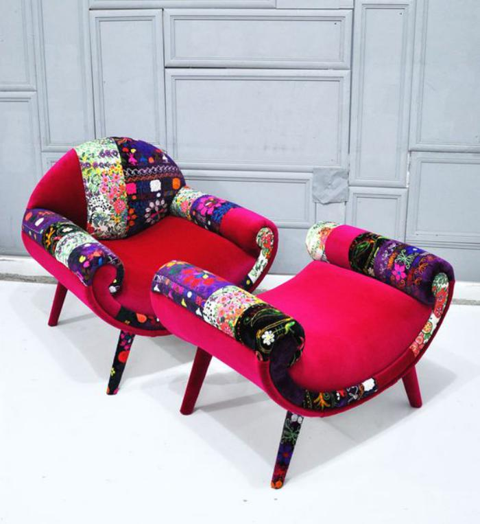 kleiner-Sessel-mit-passendem-Hocker