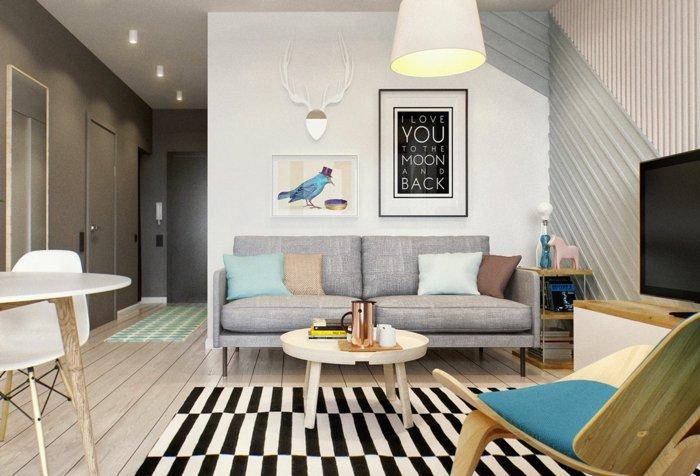 Großes quadratisches wohnzimmer einrichten ~ Dayoop.com