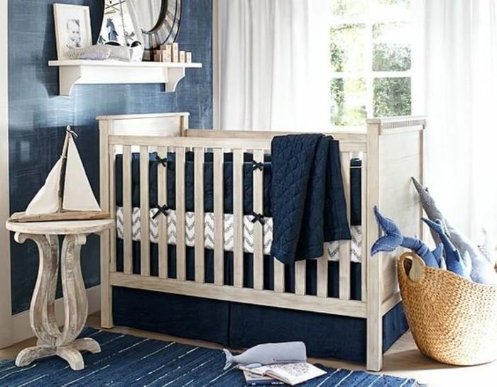 kleines-babyzimmer-einrichten-herrliche-modelle-babybetten-für-jungen