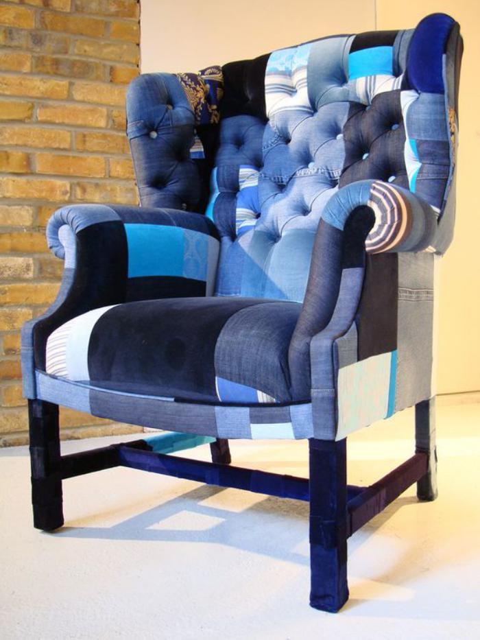 kreative-idee-für-Sessel-aus-Denim