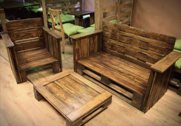 50 coole modelle sofa aus europaletten - Mobel aus paletten bauen ...