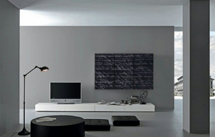 120 wohnzimmer wandgestaltung ideen. Black Bedroom Furniture Sets. Home Design Ideas