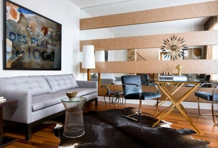 kreative-wand-deko-ideen-fürs-wohnzimmer-großer-fernseher-und-interessante-akzente