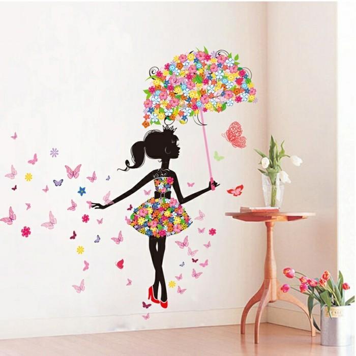 110 kreative ideen fototapete f rs kinderzimmer. Black Bedroom Furniture Sets. Home Design Ideas