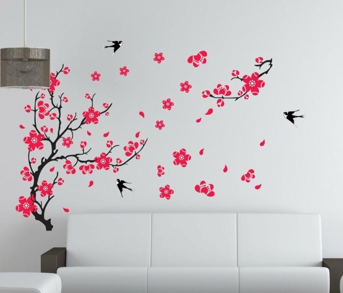kreative-wohnung-einrichten-ideen-für-wandgestaltung-im-wohnzimmer