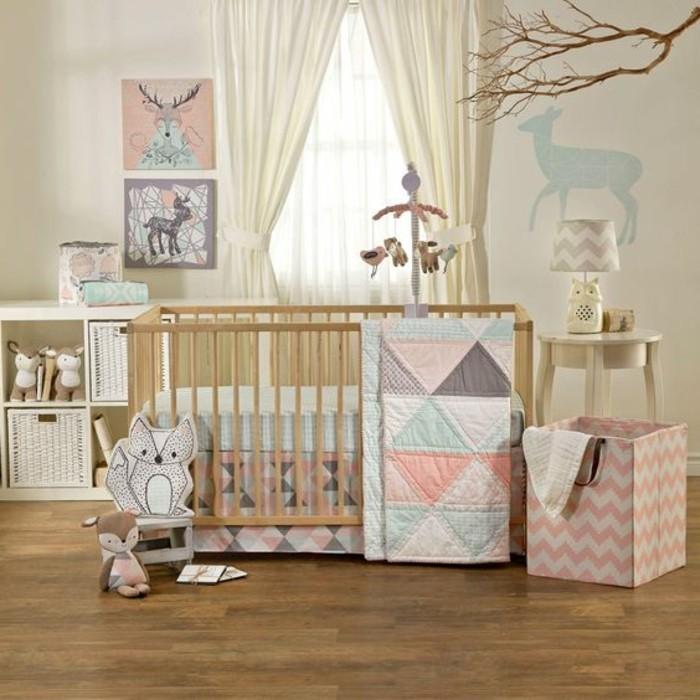 kreatives-modell-babyzimmer-baby-kinderbett-mädchen