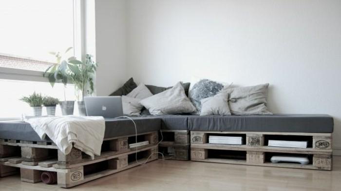 50 coole modelle sofa aus europaletten - Europaletten mobel sofa ...