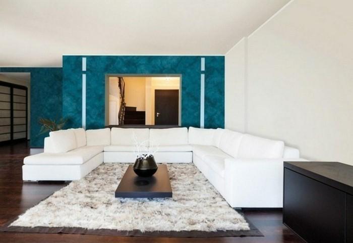 Wohnzimmer Petrol die wunderschöne und effektvolle wandfarbe petrol archzine