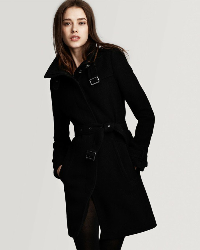 Burberry winterjacke damen