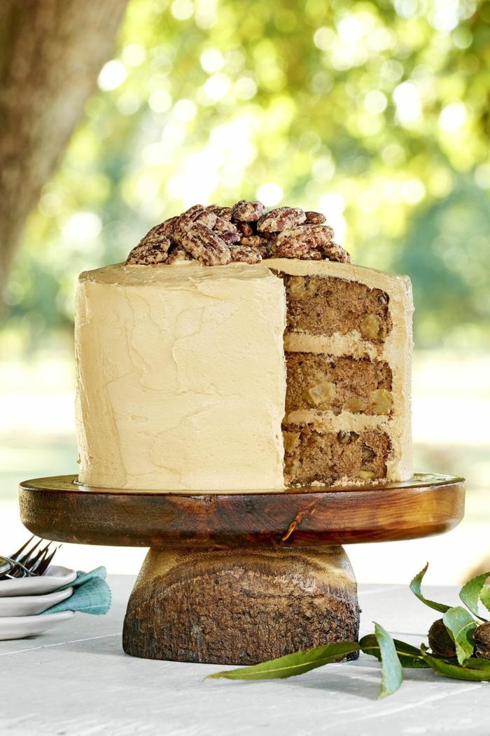 leckere ideen für geburtstagstorte apfel zimt kuchen mit glasur kuchen zum geburtstag selber machen
