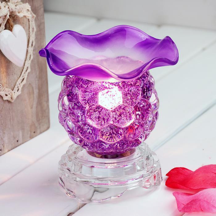 lila-Diffuser-aus-Kristall-für-Teelichter