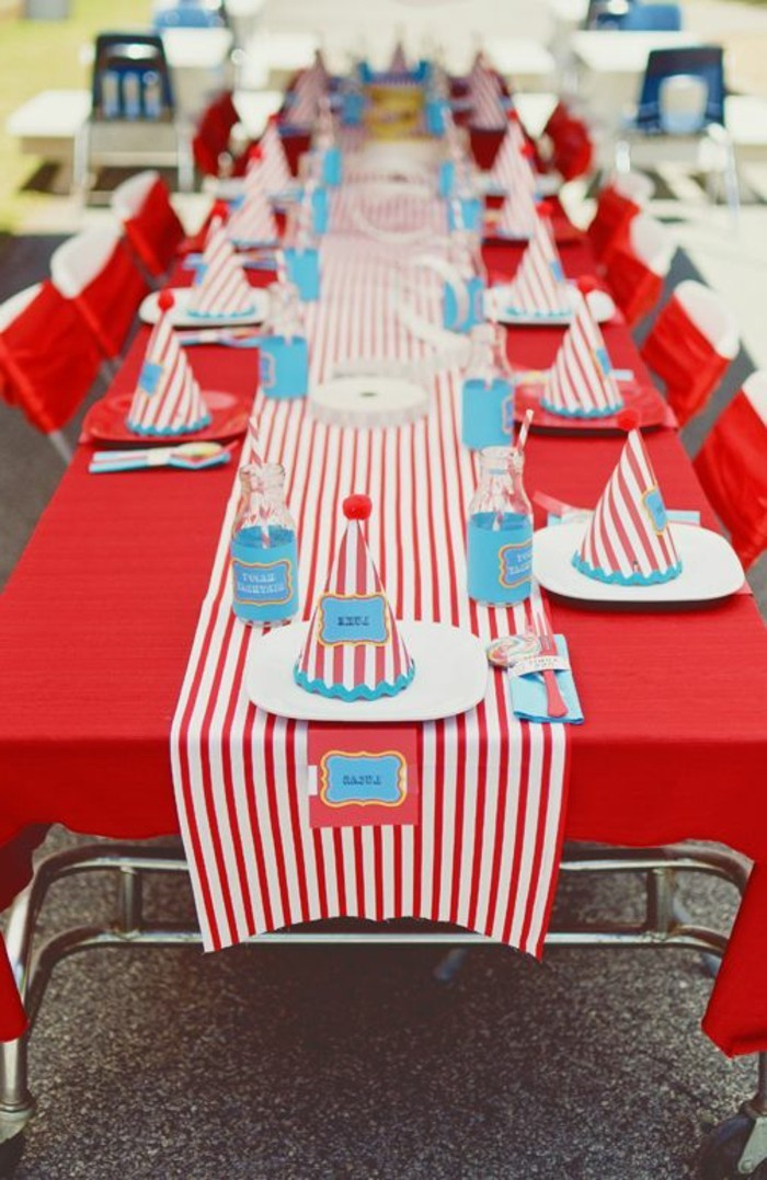 lustige-rote-Tischdeko-für-Kinderparty