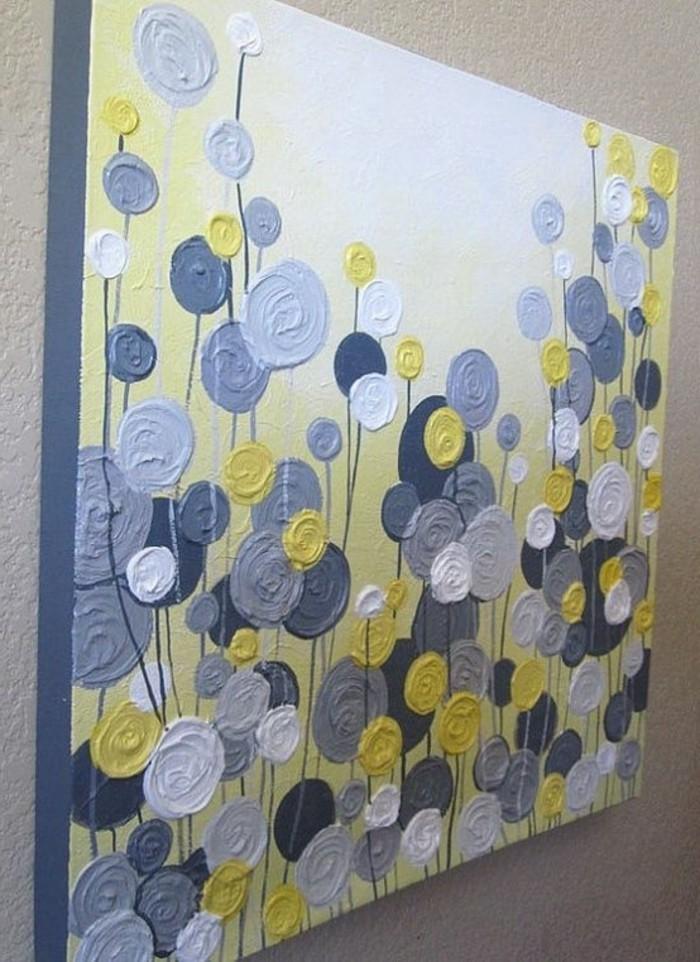 malerisches-Bild-auf-Leinwand-abstrakte-Blumen-Darstellung