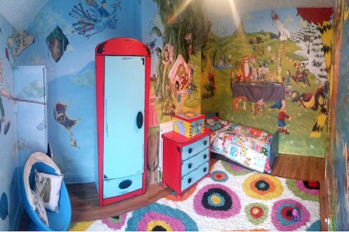 mehrteilige-bilder-für-Kinderzimmer-mit-Helden-aus-Märchen-1