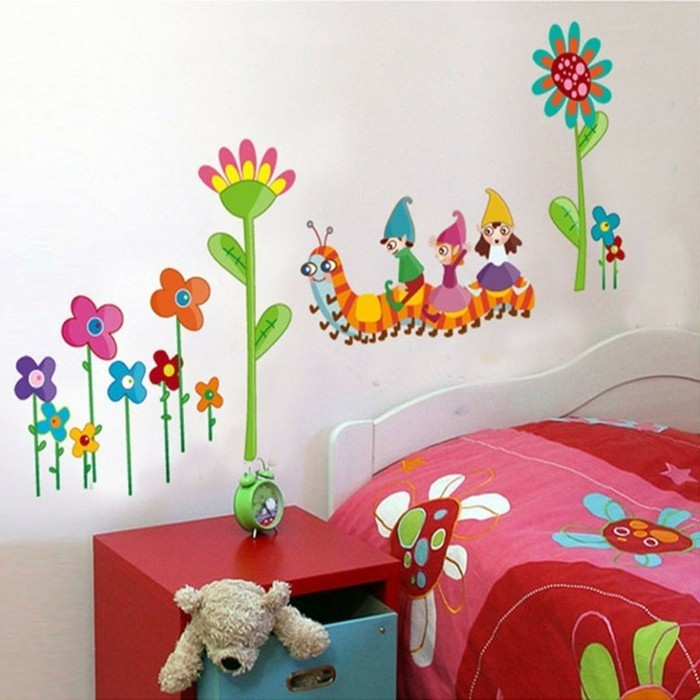 mehrteilige-bilder-für-kinderzimmer-mit-fantastischer-zeichnung