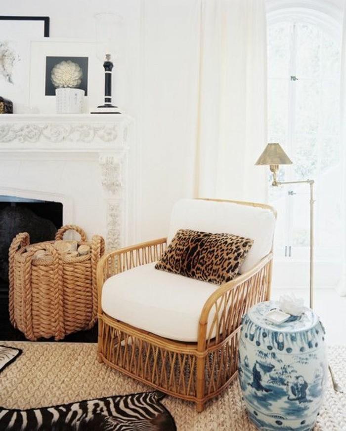 moderne-Wohnung-mit-bequemen-Rattanmöbeln